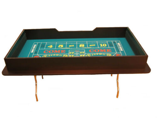 80 inch Craps Table Single Dealer Made in USA by ACEM CASINO SUPPLIES