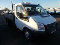 Ford Transit Chassis Cab Tdci 100Ps [Drw] Euro 5 Tipper DIESEL MANUAL (2013)