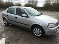 vauxhall astra 1.6 club 2004/53 plate with 105k and a february 2019 mot..