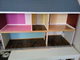 Second Hand, Hand made doll house fully refurnished