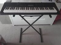 Casio CTK2300AD Keyboard and stand