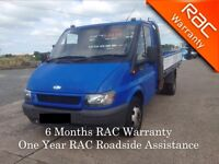 2005 Ford Transit T350 Pick Up 10ft lwb
