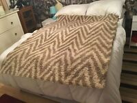 fawn and cream rug