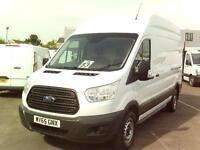 Ford Transit T350 L3 H3 125PS VAN DIESEL MANUAL WHITE (2015)