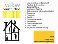 HANDYMAN Professional service delivering high standards for over 10 years. Free quote or daily rates