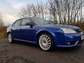 STUNNER!! Ford Mondeo ST220 **12 MONTHS MOT**Serviced**Performance blue with black leather**