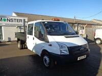 Ford Transit T350 D/Cab Tipper Tdci 100Ps [Drw] Euro 5 DIESEL MANUAL (2013)