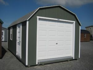 12x20 Gambrel Woodtex Shed