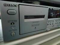 Sony Digital Twin Cassette Recorder
