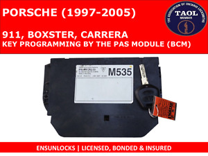 KEY PROGRAMMING FOR PORSCHE 911, BOXSTER, CARRERA BY THE PAS/BCM