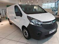 Vauxhall Vivaro 2900 1.6Cdti 115Ps LWB Low Roof Van DIESEL MANUAL WHITE (2015)