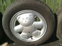 Ronal Teddy Bear Alloys, with as new tyres, Ford, Peugeot Citroen
