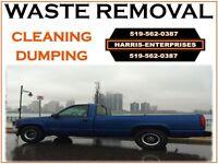 CLEANUPS, LOADS TO DUMP**519-562-0387**