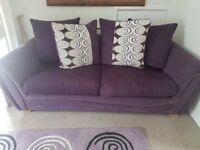 3 seater sofa and chair excellent condition
