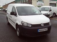 Volkswagen Caddy Maxi 1.6TDI 102ps Startline DIESEL MANUAL WHITE (2014)