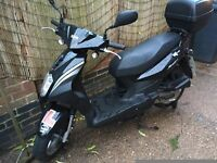 2014 sym symply 50cc moped for swaps