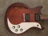 Ibanez AMF73 Semi-Hollowbody Electric Guitar w/ Seymour Duncan in Tobaco sunburst