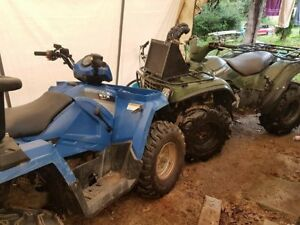 FS/TRADE: 2015 POLARIS SPORTSMAN ETX 2X4/4X4 FUEL INJECTED, IRS