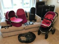 iCandy peach 3 travel system Fushia