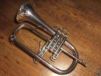 Vincent Bach Stradivarius 183 silver plated Flugelhorn