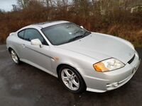 Hyundai Coupe 2.7 V6 **12 MONTHS MOT**FULL LEATHER**NEW DISCS & PADS**Great Driver**BARGAIN@£995