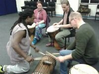 African Drumming Class - Beginners - Come and try something new! Mondays at 8.15, Leamington Spa