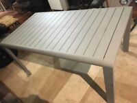 New Habitat garden table brand new Garden table by habbitat brand new deliver rrp 249