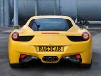 RA63CAR - RACE CAR - Private Number Plate- gtr van r32 m3 bmw rs4 gti audi vw amg m sport golf a3