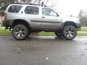 Lifted 2003 Nissan Xterra supercharged SUV, Crossover
