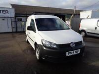 Volkswagen Caddy 1.6 Tdi 75Ps Van DIESEL MANUAL WHITE (2014)