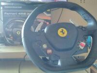 thrustmaster racing wheel for pc/xbox