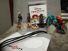PS3 Disney Infinity Starter Pack + Lone Ranger Play Set and Bonus Characters