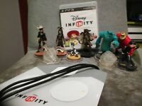 PS3 Disney Infinity Starter Pack + Lone Ranger Play Set and Bonus Characters