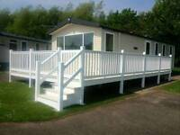 8 berth prestige caravan for hire in haggerston castle