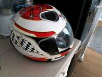 Motorcycle helmet Radio/iPod dock