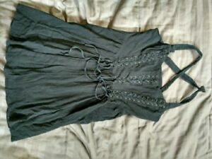 Black Free People dress (Small) with lace up front
