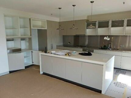 Top end 5 year old large kitchen with Miele applicances
