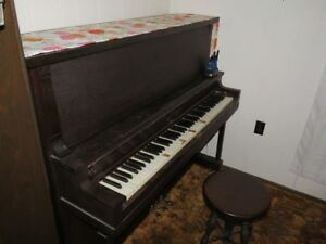 Webster Upright Piano - poor condition