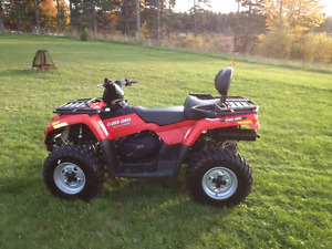 2012 Can-Am Outlander Max 400 4wd