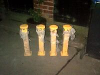 Telescopic Driveway Security Posts
