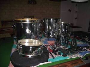 Pearl Export Chrome Series Drums