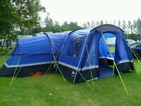 Hi Gear Zenobia 6 Man Tent with Porch