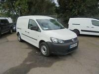 Volkswagen Caddy C20 1.6 Tdi 102Ps Startline Van DIESEL MANUAL WHITE (2013)