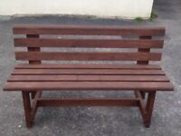 Brand New Handmade Wooden Garden Bench