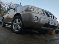 Nissan x-trail 2.2 Turbo diesel 4x4 6 speed, MOT, Private registration plate