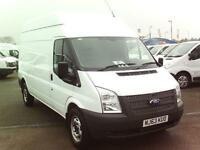 Ford Transit T350 LWB 100PS VAN DIESEL MANUAL WHITE (2013)