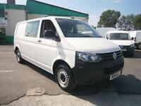 Volkswagen Transporter 2.0tdi lwb Startline Kombi Van 102ps DIESEL MANUAL (2014)