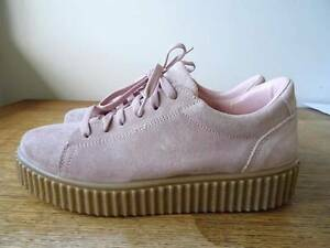 Light Pink Suede Creepers Asos size 8/39 Ainslie North Canberra Preview
