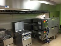 Restaurant make up air unit with exhaust system any size