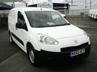 Peugeot Partner L1 850 1.6 HDI 92BHP VAN DIESEL MANUAL WHITE (2012)